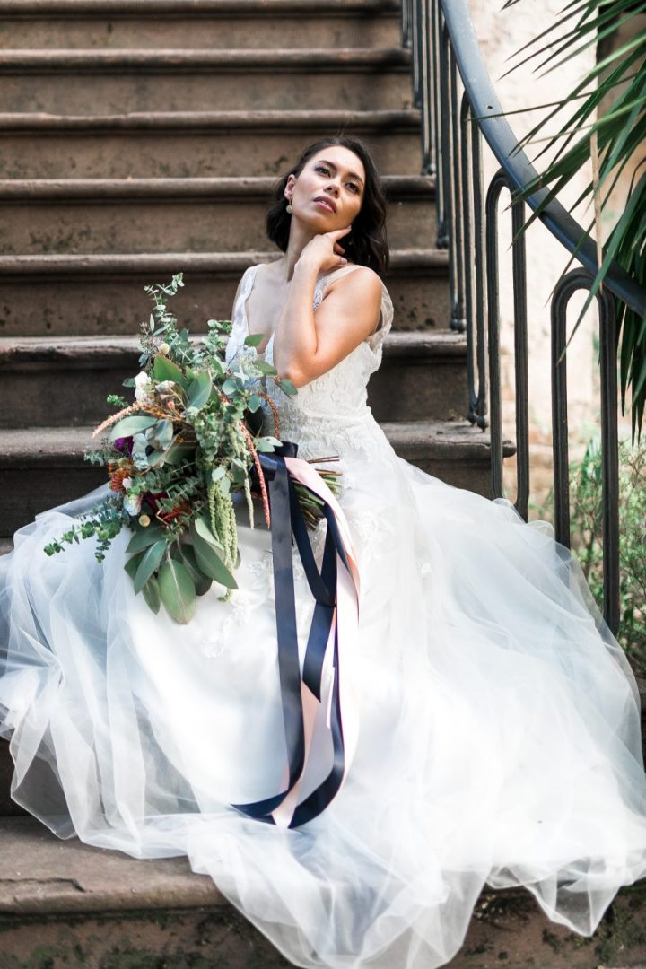 Mary Elizabeth Bridal Styled Shoot with Flowers by the bouquet shop bluffton