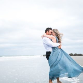 Tybee Island Engagement Photos- Bronston photography-wedding photographer-savannah, ga