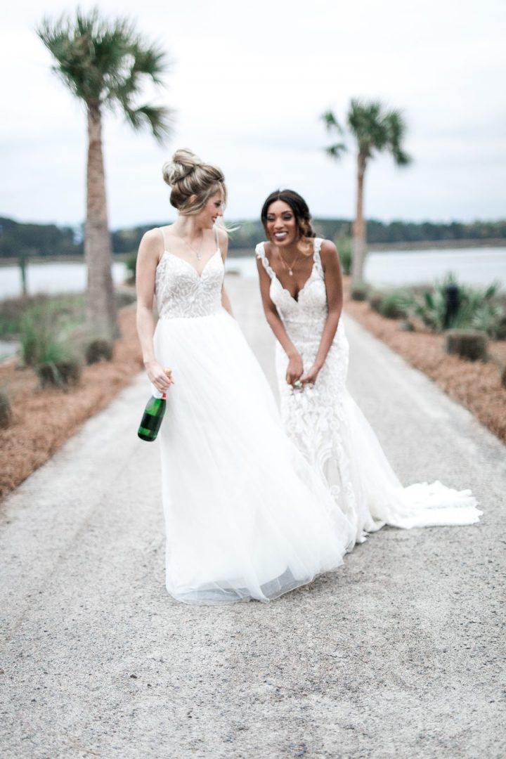 Same Sex Wedding-Lesbian Wedding-Southern Spring Wedding-Oldfield Plantation-Bluffton,SC