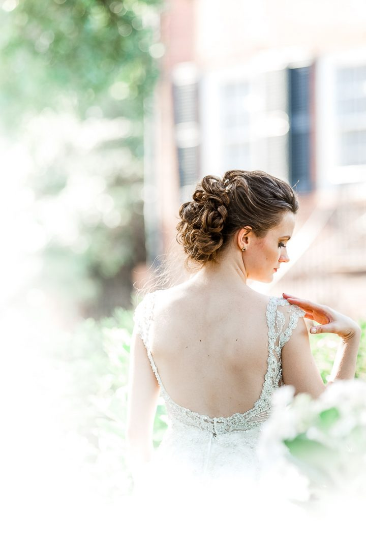 Bridal Portraits-Wedding Day-Davenport House-Savannah, GA-bronston photography