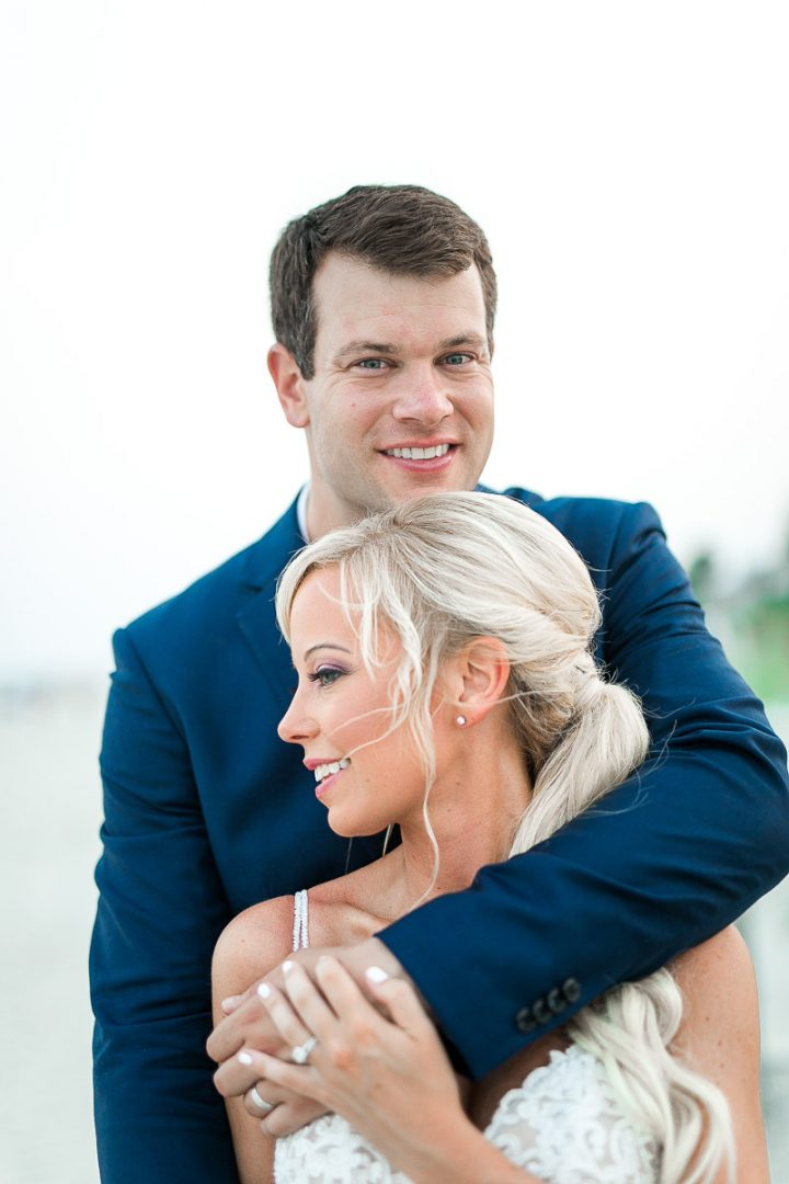 Hilton Head Island Beach Wedding Sonesta-Summer Wedding-Bride & Groom Portraits-Bronston Phtotography