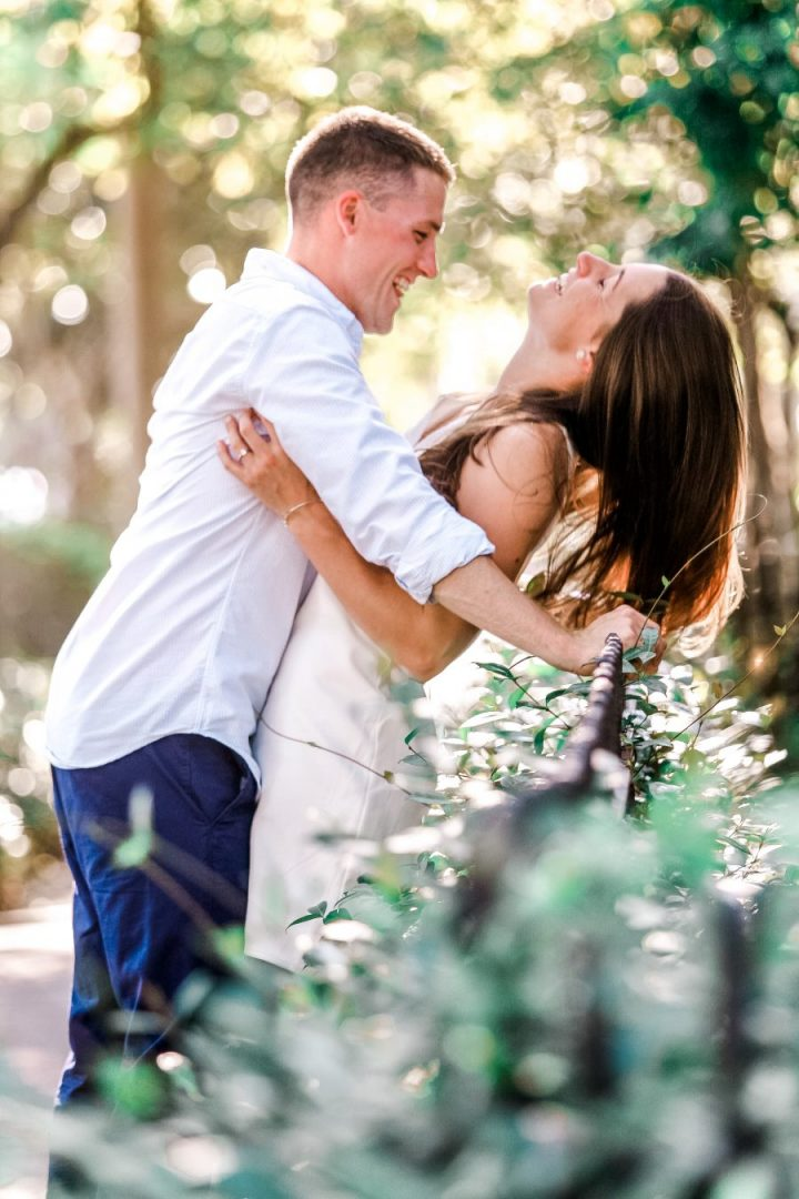 Summer Engagement-Bronston Photography-Savannah, GA,-Columbia Square