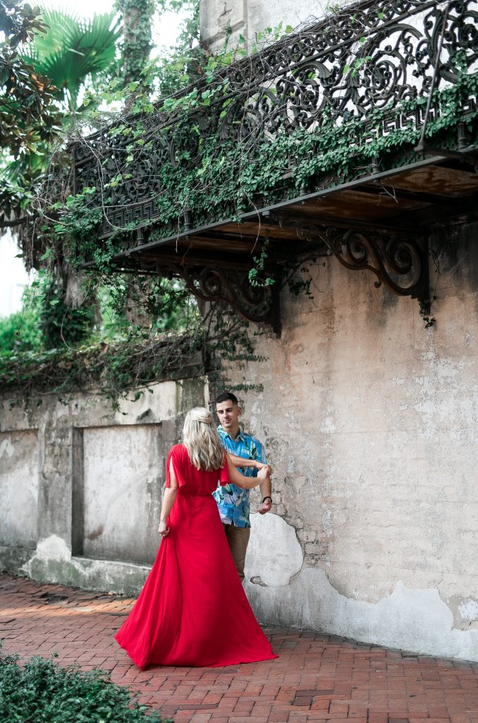 Raskin House-Savannah, Georgia-Engagement Photography-Forsyth Park-Monterey Square